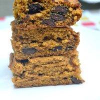 Soft & Cakey Pumpkin Chocolate Chip Bars