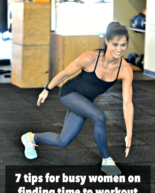 7 Tips for Finding Time to Workout (from your fellow readers!)