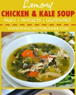 Lemony Chicken and Kale Soup