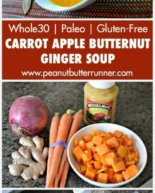 My Favorite Carrot Apple Butternut Ginger Soup Made Easy
