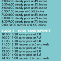 30-Minute, 3+ Mile Hill and Sprint Treadmill Interval Workout + A Playlist to Go With