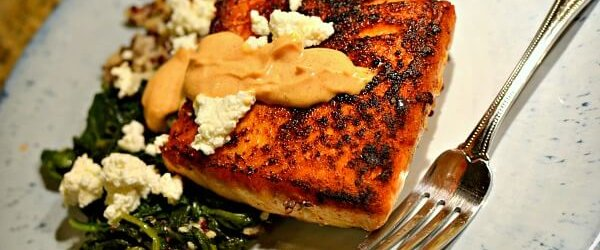 The Perfectly Seared Salmon Secret + Recent Eats