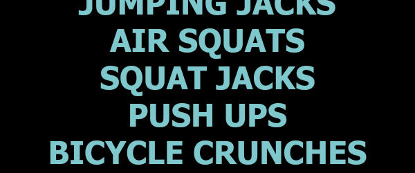 15-Minute Bodyweight Workout + Friday Favorites