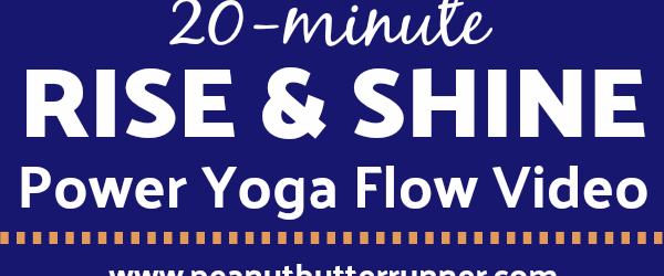 20-Minute Power Yoga Flow Video + An Intentional Start to the Day ($100 Visa Gift Card Giveaway!)