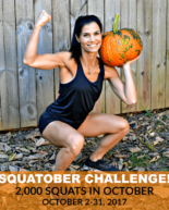 2,000 SQUATOBER Instagram Challenge + October Workout Playlist (3+ Hours of Music!)