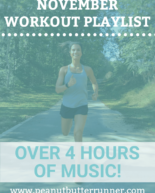 November Workout Playlist (4 hours of music!) + This Week's Dinner Menu + Last Week's Workouts