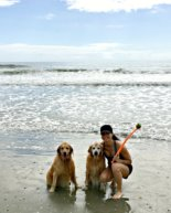 Dog-Friendly Folly Beach Vacation Rental + The Pups Go to the Beach!