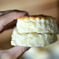 Three-Ingredient Buttermilk Biscuits {Recipe + Video}