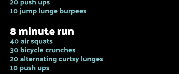 Fall Into Fitness Round Up + Go For A Run Driveway Workout