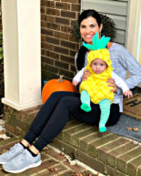 My Pineapple Baby + What I Ate on Halloween