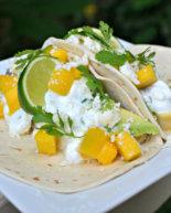 Easy Mango Avocado Fish Tacos