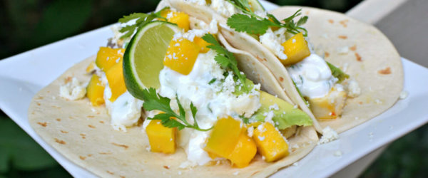 Easy Mango Avocado Fish Tacos
