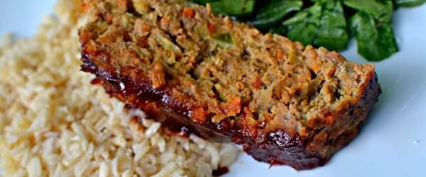 Veggie Packed Turkey Meatloaf