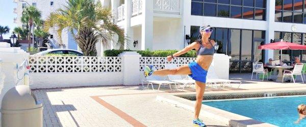 Total Body Cardio + Strength Bodyweight Workout
