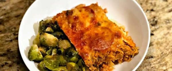 The Best Ever Pizza-Inspired Spaghetti Squash Casserole