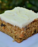 8×8 Small-Batch, Single Layer Carrot Cake