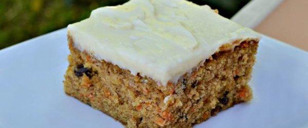 8×8 Small-Batch, Single Layer Carrot Cake